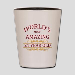 21st. Birthday Shot Glass