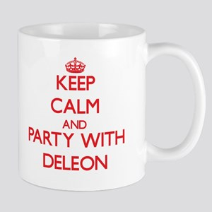 Keep calm and Party with Deleon Mugs