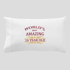 16th. Birthday Pillow Case