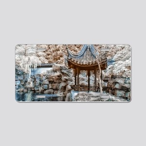 Chinese Garden Infrared Aluminum License Plate