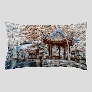 Chinese Garden Infrared Pillow Case