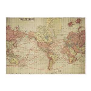 World map area rugs cafepress gumiabroncs Image collections