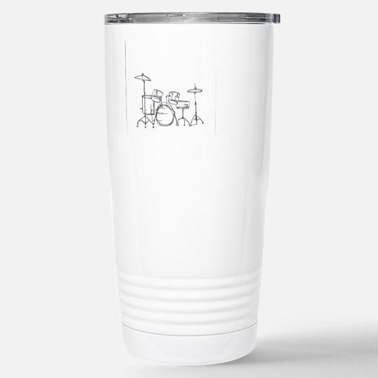 Drum Kit Stainless Steel Travel Mug
