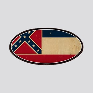 Mississippi State Flag VINTATE Patches