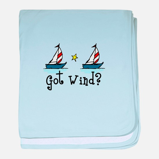 Got Wind? baby blanket