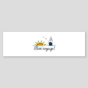 Bon Voyage Bumper Sticker