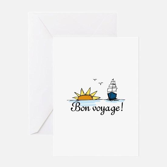 Bon Voyage Greeting Cards