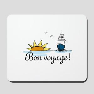 Bon Voyage Mousepad