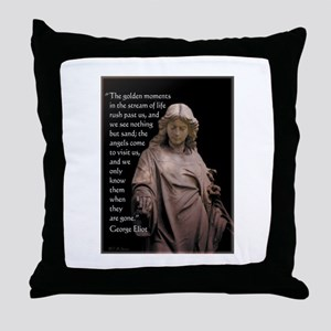 Angels Come to Visit Throw Pillow