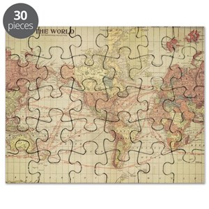 Old world map puzzles cafepress gumiabroncs Images