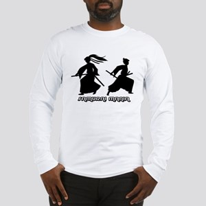 """Samurai Mania"" Iaijutsu Long Sleeve T-Shirt"