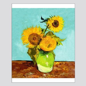 Vincent Van Gogh Three Sunflowers In A Vase Poster