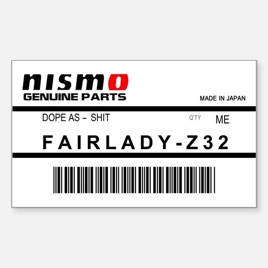 Nismo Label Decal