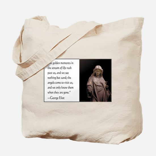 Angels Come to Visit Tote Bag