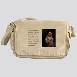 Angels Come to Visit Messenger Bag