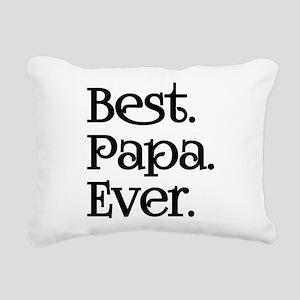BEST PAPA EVER Rectangular Canvas Pillow