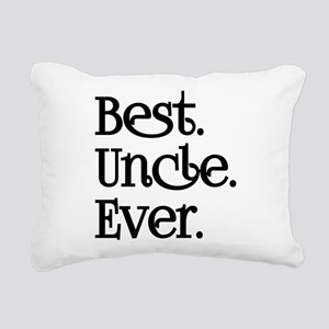 BEST UNCLE EVER Rectangular Canvas Pillow