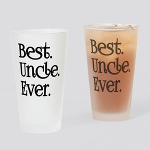 BEST UNCLE EVER Drinking Glass
