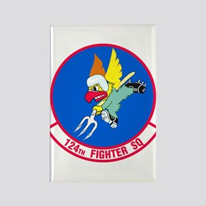 124th Fighter Squadron Magnets