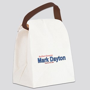Re-Elect Mark Dayton Canvas Lunch Bag