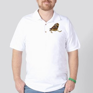 Determined Marching Owl Golf Shirt