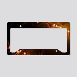 Christmas Candlelight License Plate Holder