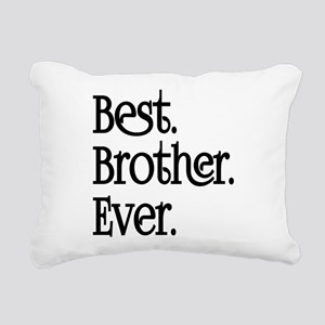 Best Brother Ever Rectangular Canvas Pillow