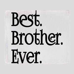 Best Brother Ever Throw Blanket