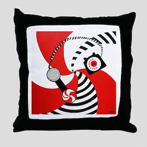 The White Stripes Jack White Original Throw Pillow