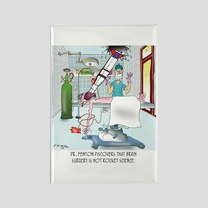 Surgery Cartoon 8815 Rectangle Magnet