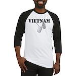 Vietnam Dog Tags Baseball Jersey
