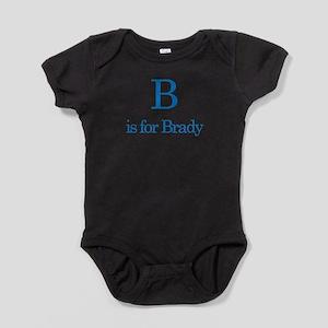 B is for Brady Infant Bodysuit Body Suit