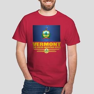 Vermont Flag (v15) T-Shirt