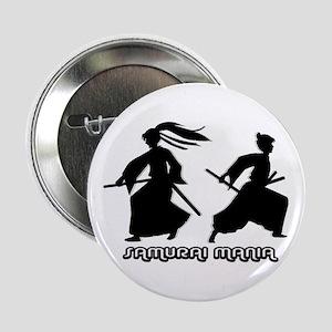 """""""Samurai Mania"""" Iaijutsu Button"""