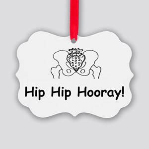 Hip Hip Hooray Ornament