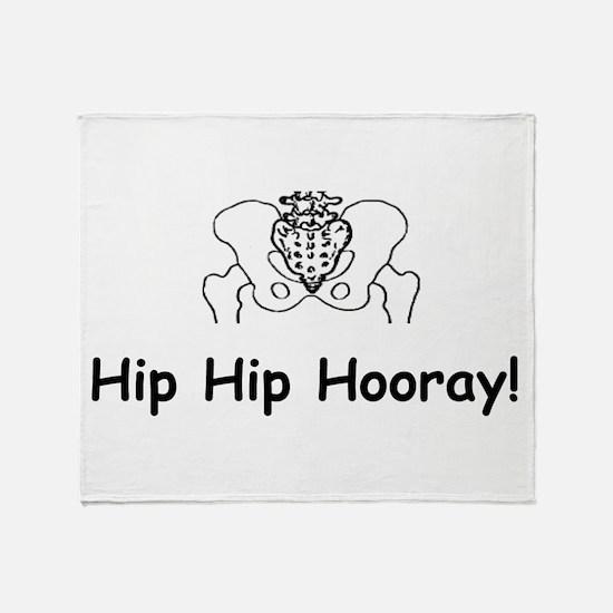 Hip Hip Hooray Throw Blanket