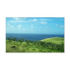 Maui Meadow Trees Wall Decal
