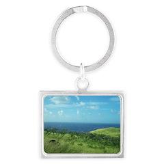 Maui Meadow Trees Keychains