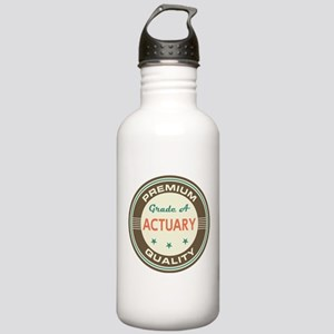 Actuary Vintage Stainless Water Bottle 1.0L