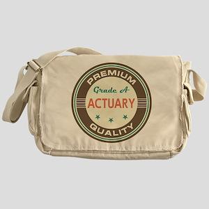 Actuary Vintage Messenger Bag