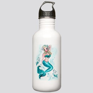 Pin Up Mermaid with Me Stainless Water Bottle 1.0L