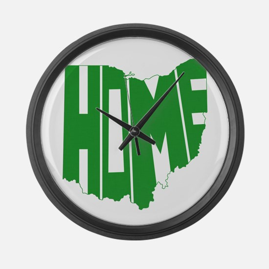 Ohio Home Large Wall Clock