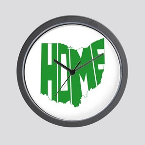 Ohio Home Wall Clock