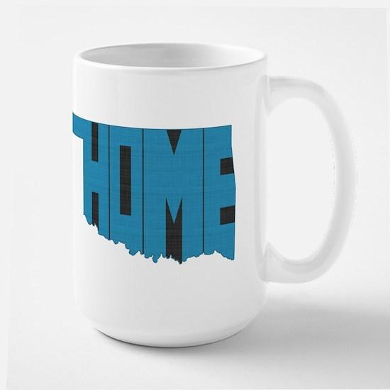 Oklahoma Home Large Mug