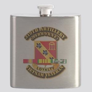 319th Field Artillery (Airborne) - Vietnam Flask