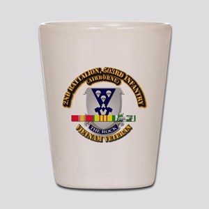 2nd Bn - 503rd Infantry (Airborne) - Vi Shot Glass