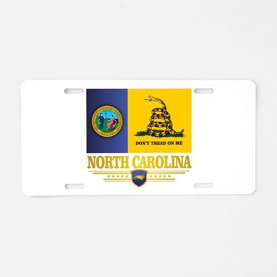 North Carolina Gadsden Aluminum License Plate