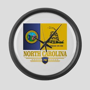 North Carolina Gadsden Large Wall Clock