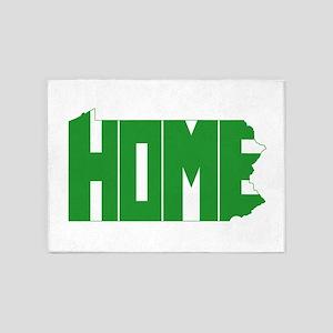 Pennsylvania Home 5'x7'Area Rug