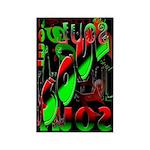 Soul Rectangle Magnet (100 pack)